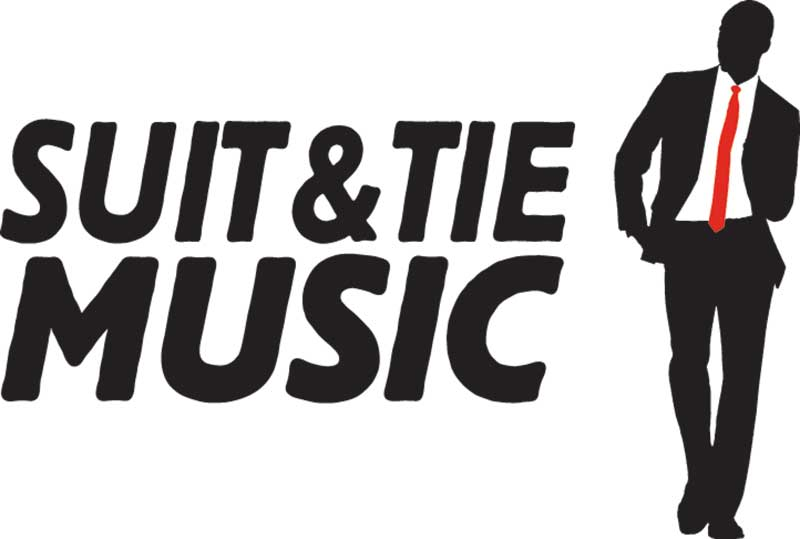 Suit and Tie Music Logo