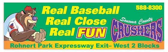 Sonoma County Crushers Billboard