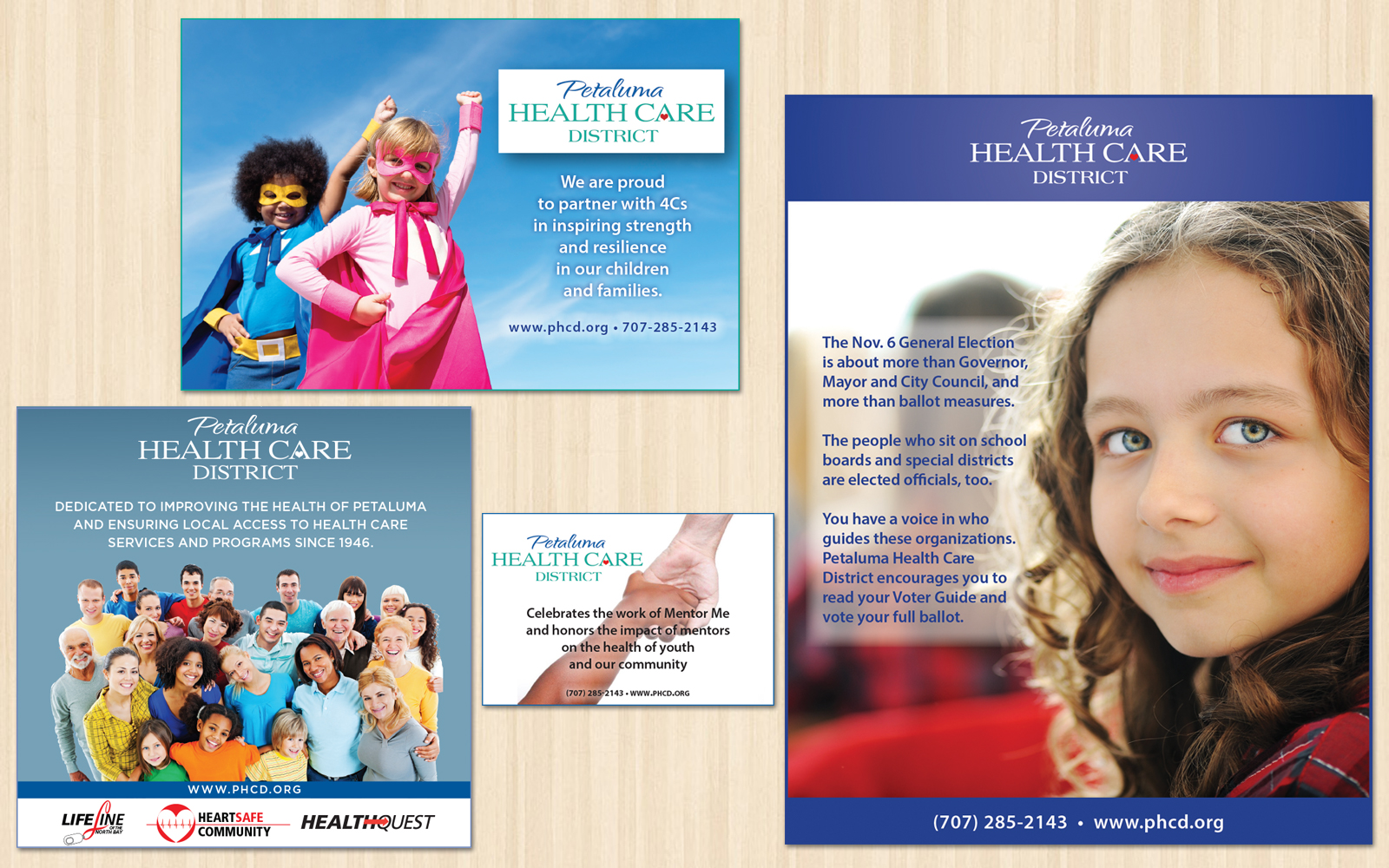 Petaluma Health Care District Ads